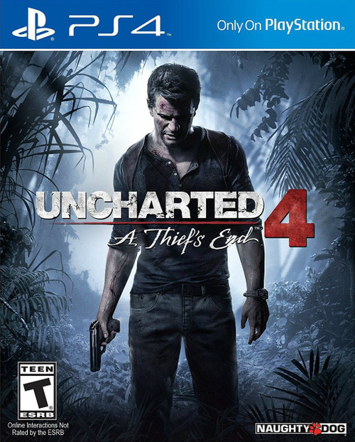 Uncharted 4: A Thief's End (PS4) (Pre-Owned)