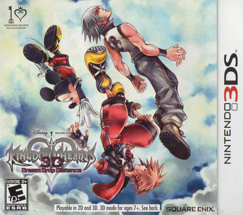 Kingdom Hearts 3D: Dream Drop Distance (3DS) (Pre-Owned)