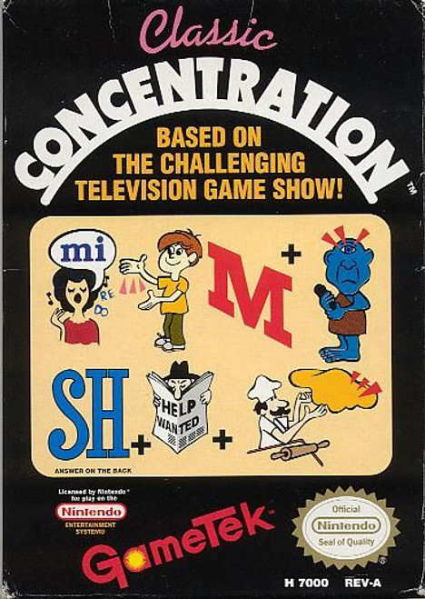 Classic Concentration (NES)