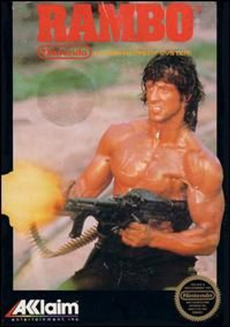 Rambo (NES) (Game Only)