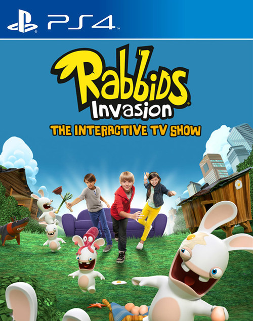 Rabbids Invasion (PS4) (Pre-Owned)