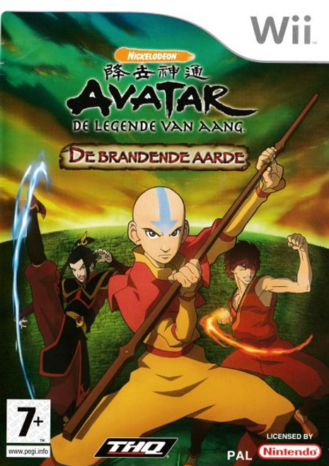 Avatar Burning Earth