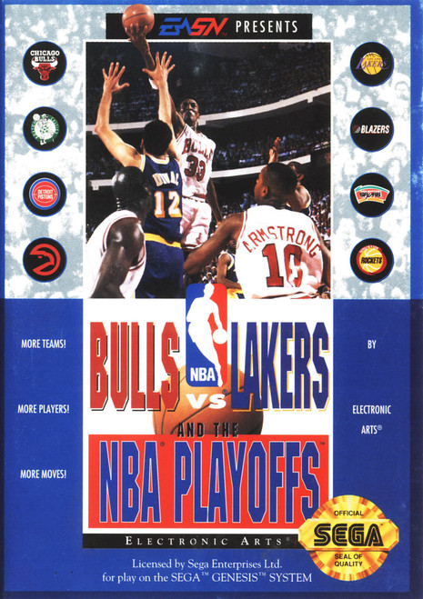 Bulls vs Lakers and the NBA Playoffs (Genesis)