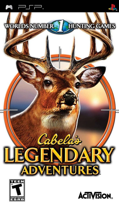 Cabela's Legendary Adventures (PSP)
