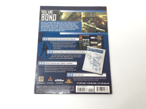 007 Quantum of Solace (Brady Games Official Strategy Guide)