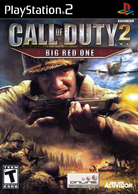 Call of Duty 2: Big Red One (PS2)