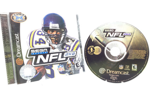 NFL 2K2 -COMPLETE IN BOX- (Dreamcast)