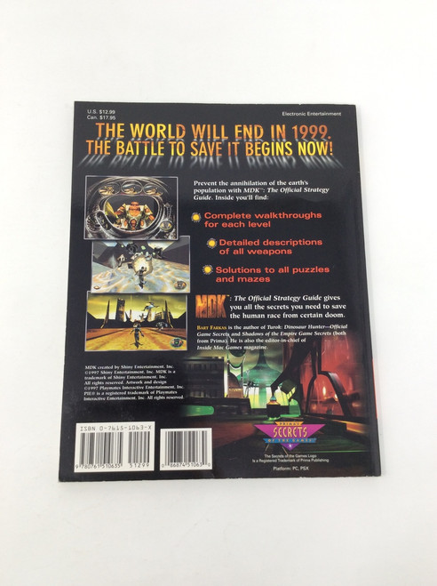 MDK (The Official Strategy Guide)