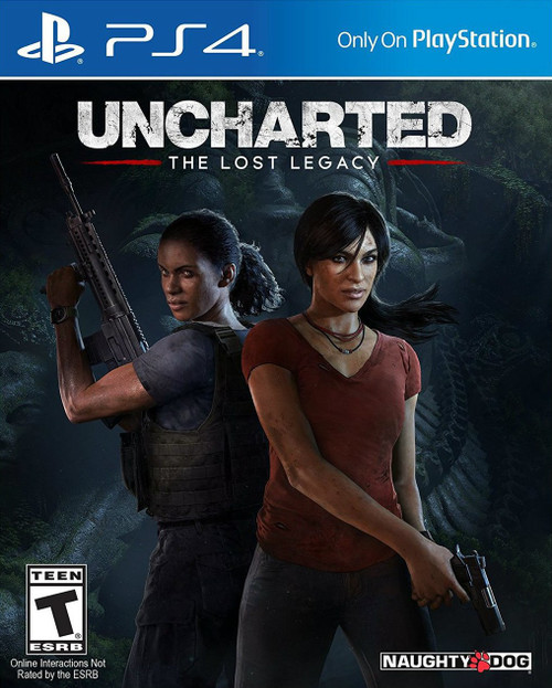 Uncharted: The Lost Legacy (PS4) (Pre-Owned)