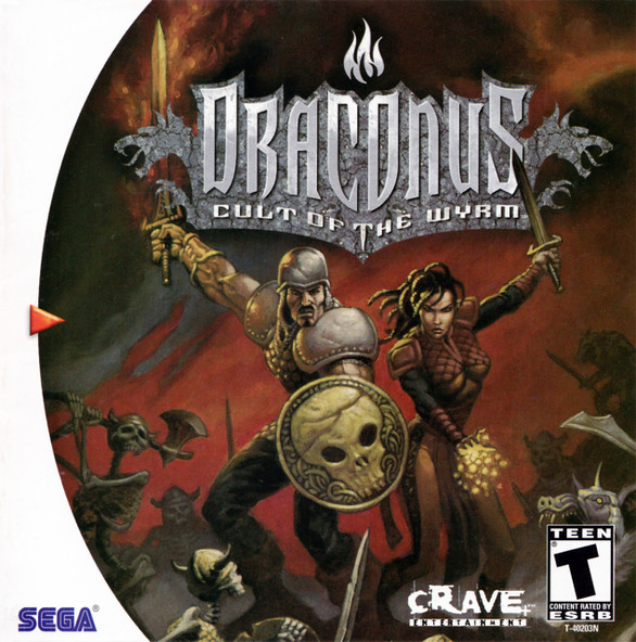 Draconus: Cult of the Wyrm -GAME ONLY- (Dreamcast)