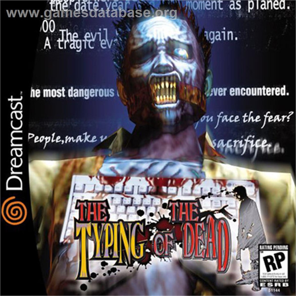 Typing of the Dead with Manual (Dreamcast)