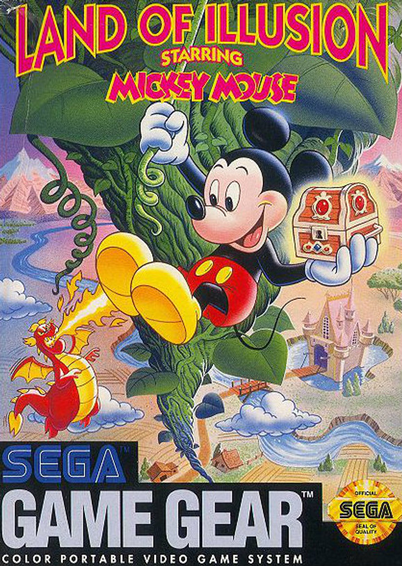 Land of Illusion Starring Mickey Mouse (Game Gear)