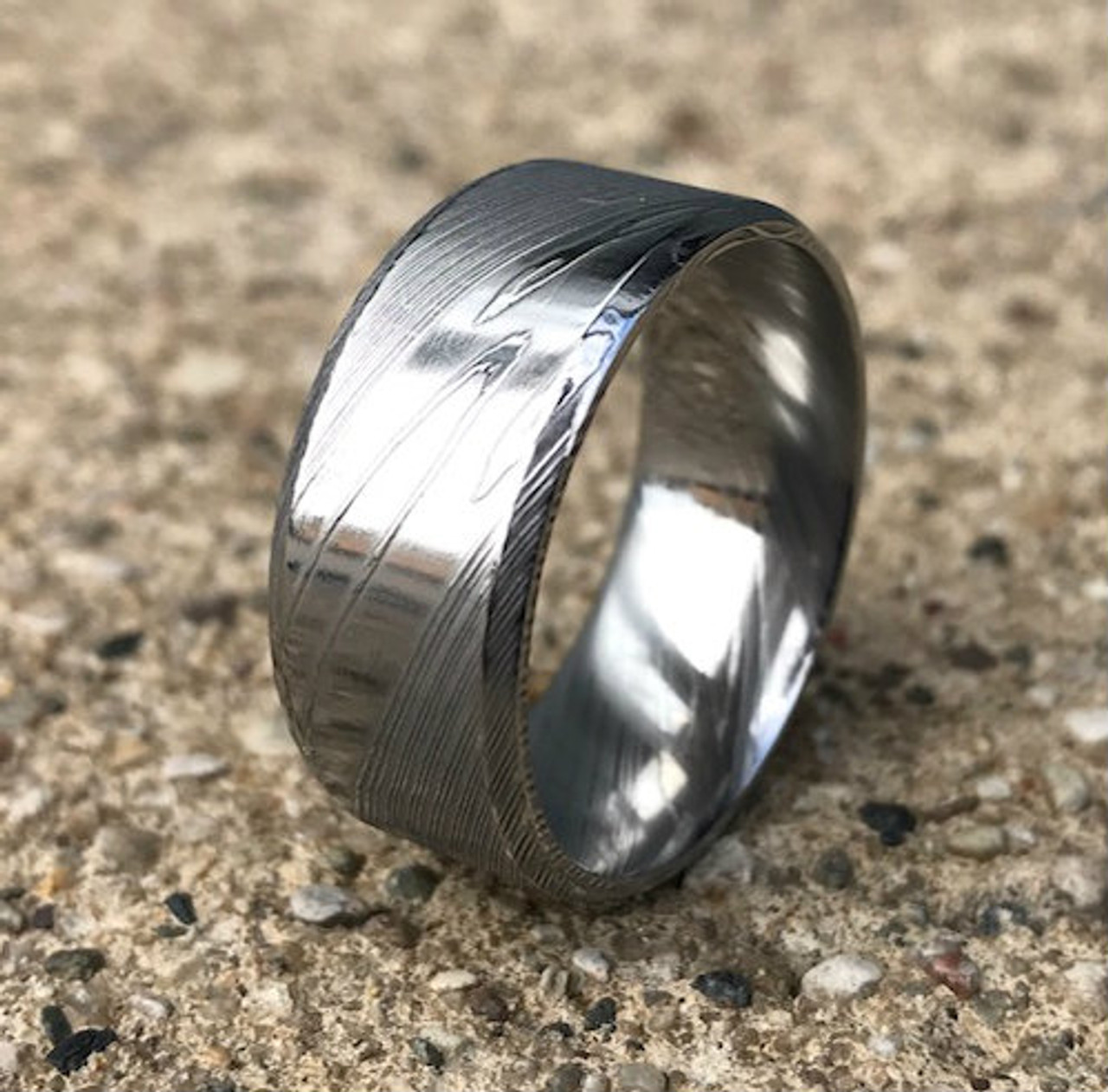 stainless wedding stylist pcs hers inspiration and download steel ring amazoncom corners his engagement rings