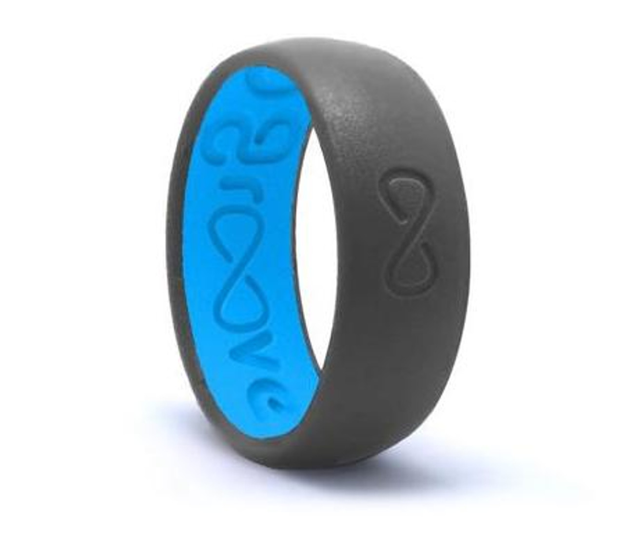 Groove Original Silicone Ring Deep Stone Grey