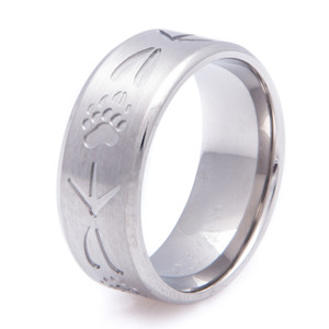 Men's Titanium All Tracks Ring