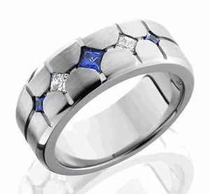 Men's Cobalt Chrome Prime Time Ring
