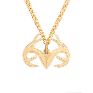 Realtree Necklace-Gold