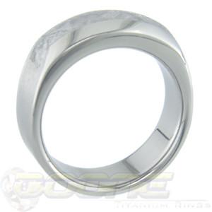 Men's Titanium Vespa Gibeon Meteorite Ring