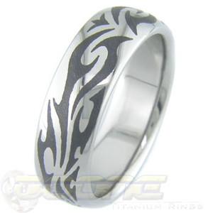 Titanium Tribal Ring