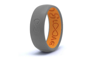GROOVE ORIGINAL SILICONE RING - STORM GREY