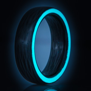 Sidecut Carbon Fiber Glow Ring-The Oreo