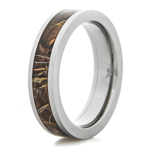 Women's Titanium Realtree® Max4 Camo Ring