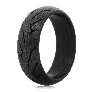Men's Carbon Fiber Knee Dragger 2 Ring