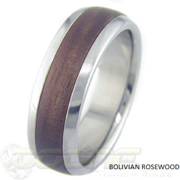 inside shop titanium and rosewood steel made rings my i stainless ring ve from ironwood