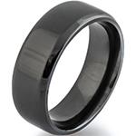 Black Zirconium Ring Example