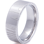 Damascus Steel Ring Example