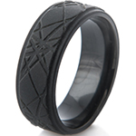 Flat Black Rings
