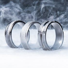 wedding spininc mindyourbiz motocross biker rings