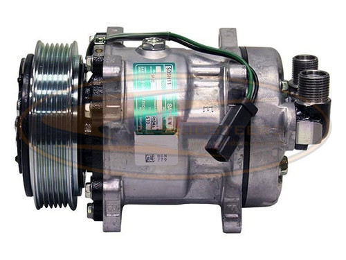 Skid Steer Air Conditioner : Air conditioning compressor for bobcat skid steer s