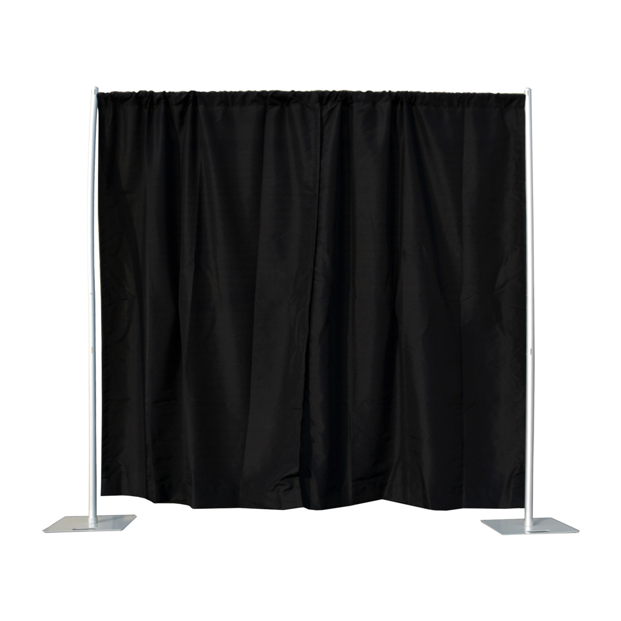 4-7ft Pipe and Drape Set up with lower crossbar  sc 1 st  PB Backdrops & 4-7ft Pipe and Drape Set up with lower crossbar - PB Backdrops