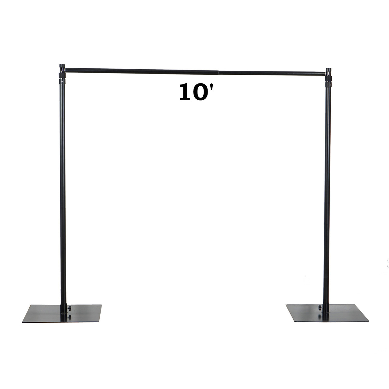 Heavy Duty Economical Pipe and Drape Kit Backdrop Support with Weighted Steel Base  sc 1 st  PB Backdrops & Heavy Duty Economical Pipe and Drape Kit Backdrop Support with ...