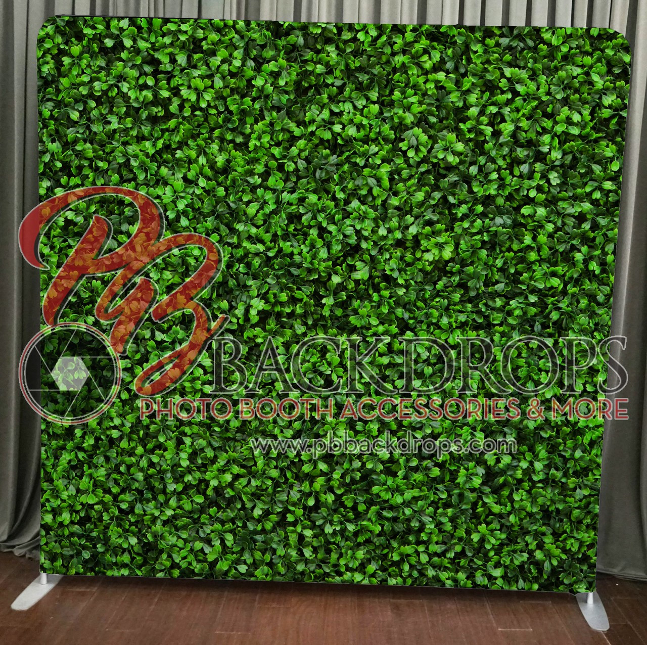 Single Sided Pillow Cover Backdrop (Hedge Wall)