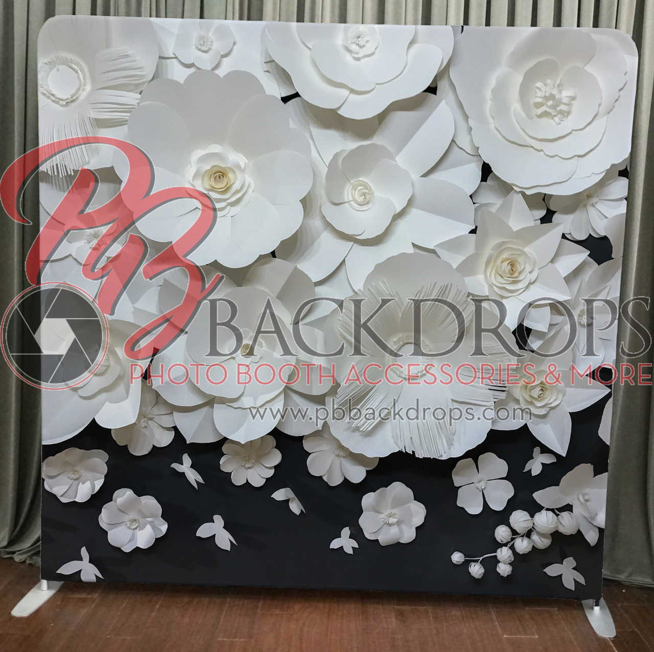 Single sided pillow cover backdrop large paper flowers pb backdrops large paper flowers mightylinksfo