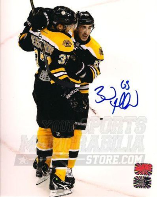 Brad Marchand Boston Bruins Autographed with Bergeron 16x20 Photo ... bb4878e94