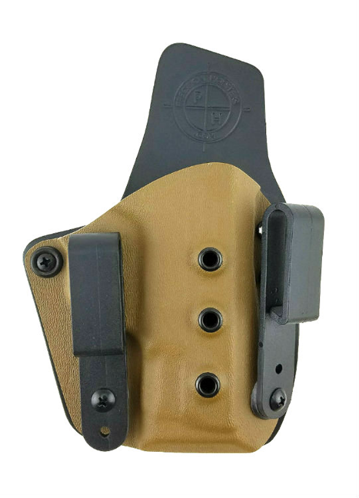 Ultra Carry Holster IWB with Coyote Color Kydex