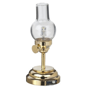 LED  Battery Powered Traditional Hurricane Lamp