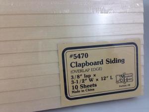 "3/8"" Clapboard Siding"