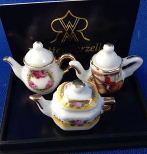 Reutter Porzellan Tea Pots