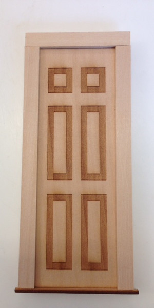 Solid Wooden Door - Fairy Door
