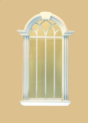 Cambridge Decorated Single Window