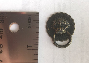 Working Lion Head Door Knocker