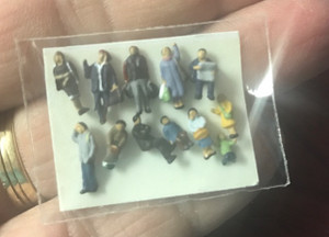 """N"" Scale People ""C"" - Pkg of 12"