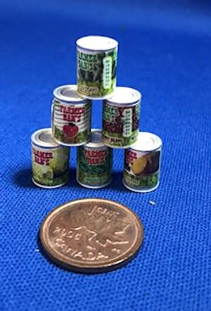 Farmer Dan Vegetables - 6 Cans