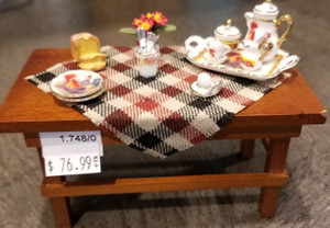 Reutter Porzellan - Table with Rooster Dishes