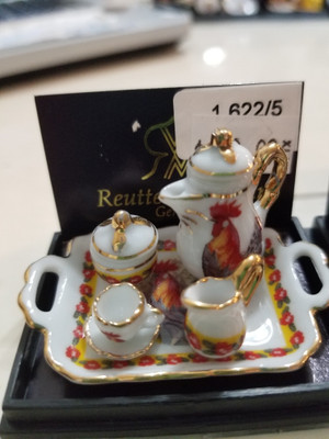 Reutter Porzellan - Rooster Coffee Set