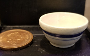 Blue & White Bowl by Sam Dunlap